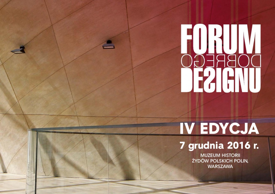 Poznaj Partnerów IV Forum Dobrego Designu