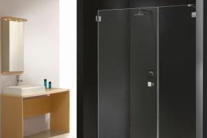 Kabina szyta na miarę: urządź strefę prysznica w nietypowej łazience