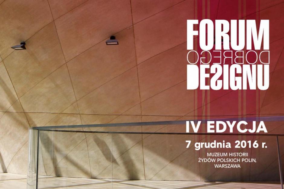 Już tylko 2 tygodnie dzielą nas od Forum Dobrego Designu!