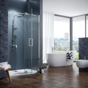 Funkcjonalna i modna - taka powinna być strefa prysznica!