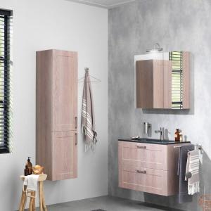 Te same meble łazienkowe, cztery różne zestawy!