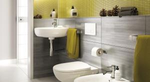 Kolor w łazience: postaw na żółć