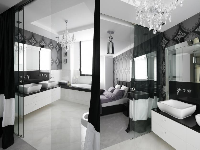Radzimy łazienka W Stylu Glamour 10 Zdjęć Z Polskich