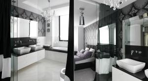 Łazienka w stylu glamour: 10 zdjęć z polskich domów