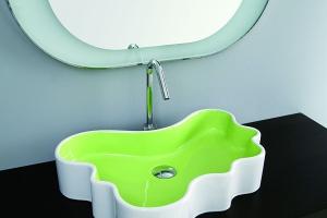 Ceramika łazienkowa - nie tylko biała!