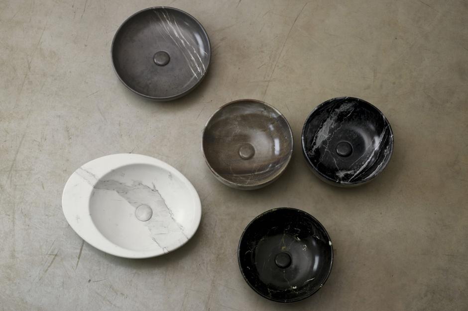 Designerskie umywalki: piękne modele jak z kamienia