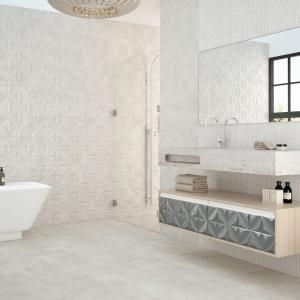 Łazienka w 3D: 10 kolekcji strukturalnych płytek