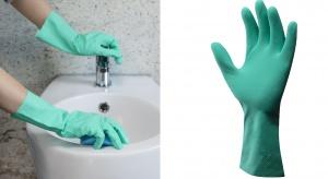 Sprzątanie w łazience - zawsze z wygodnymi rękawiczkami!