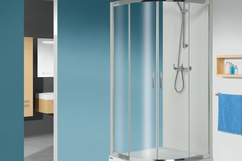 Mała łazienka: wybierz do niej kabinę prysznicową