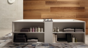 Podłoga w łazience: postaw na patchwork