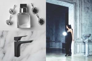 Łazienka w stylu american glamour - dobierz do niej czarną armaturę