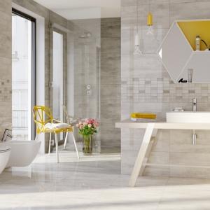 Beżowa łazienka: 10 kolekcji płytek ceramicznych