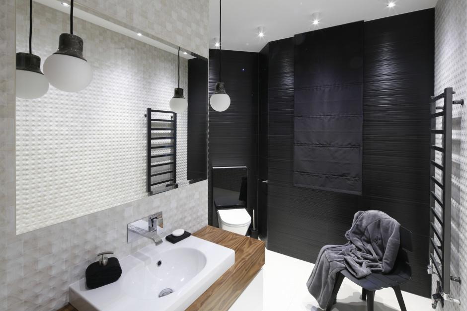 Czarna łazienka: hit aranżacyjny?