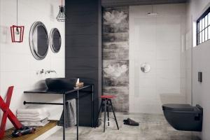Łazienka w stylu loft: inspiracje od producentów