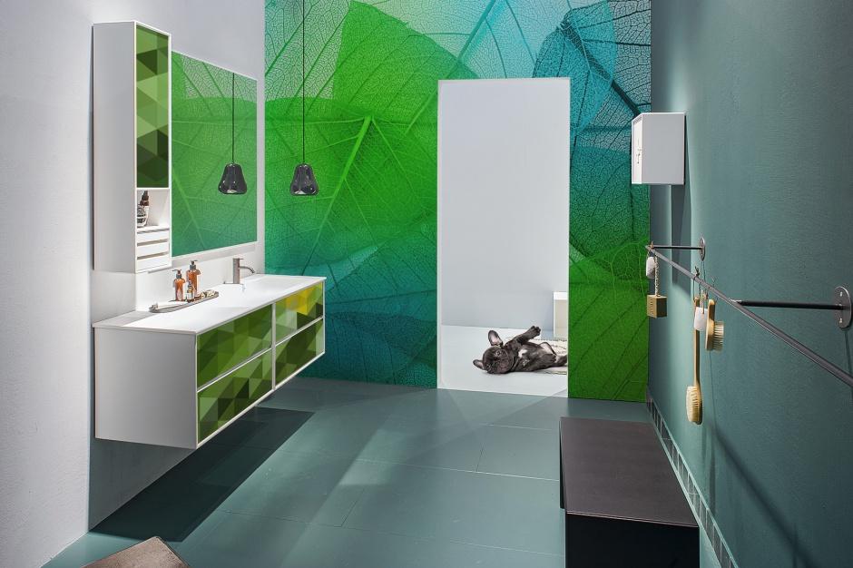 Kolor roku 2017 według Pantone - urządź łazienkę w soczystej zieleni