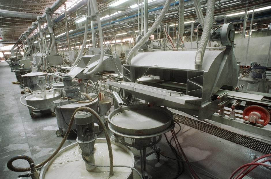 Rynek maszyn do produkcji wyrobów ceramicznych ma się dobrze