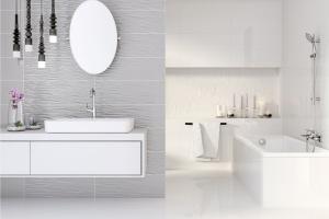 Szare płytki: 15 kolekcji do łazienek