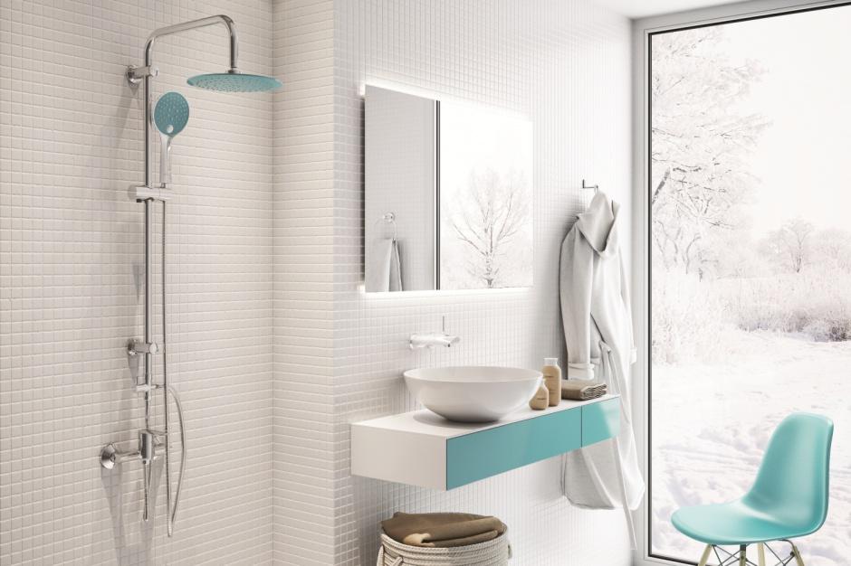Turkus w łazience: inspirujące sposoby na kolor