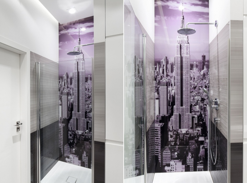 Ściana w strefie prysznica: 5 zdjęć z polskich domów