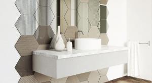 Ściana w łazience - nie tylko płytki