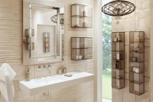 3 sposoby na otwarte półki w łazience