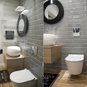 Szare ściany w łazience: tak wyglądają w polskich domach