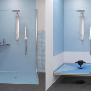 Strefa prysznica: postaw na płytę brodzikową