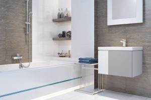Armatura łazienkowa: baterie w czerni i bieli