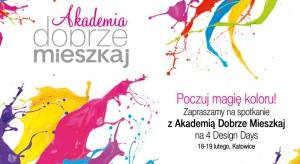 Akademia Dobrze Mieszkaj - radzimy jak dobierać kolory do wnętrz