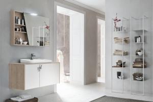 10 pomysłów na fronty mebli łazienkowych