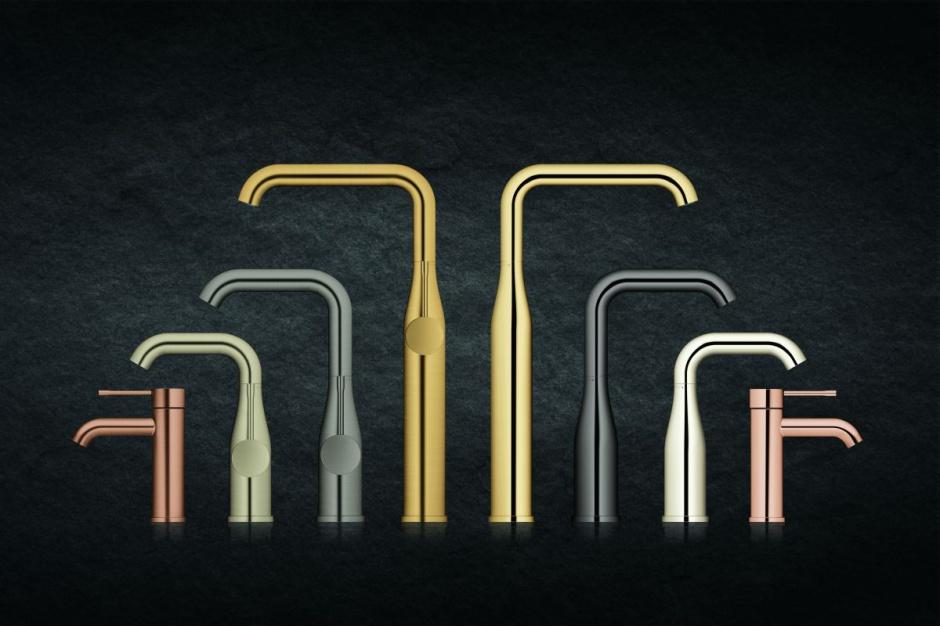 Stylowe baterie: kolekcja w kolorach metali szlachetnych