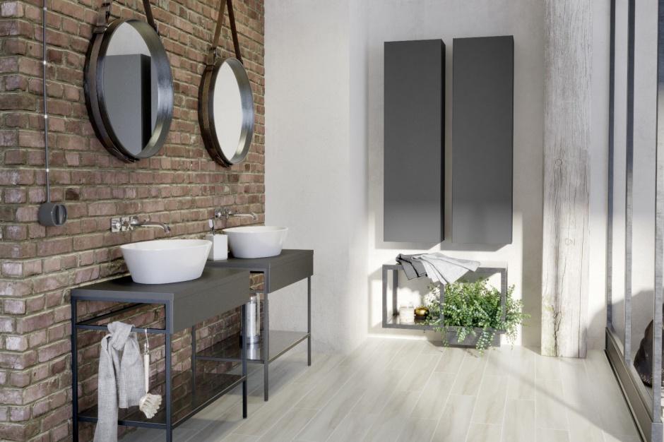 Obraz znaleziony dla: łazienka w stylu industrialnym