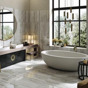 Luksusowa łazienka: inspiracje w stylu Art déco