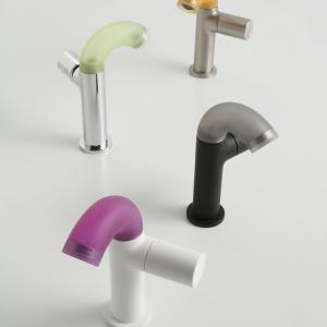 Kolorowe baterie: fantazyjna armatura łazienkowa