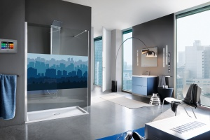 Kabina prysznicowa: 5 pomysłów na ściankę i drzwi