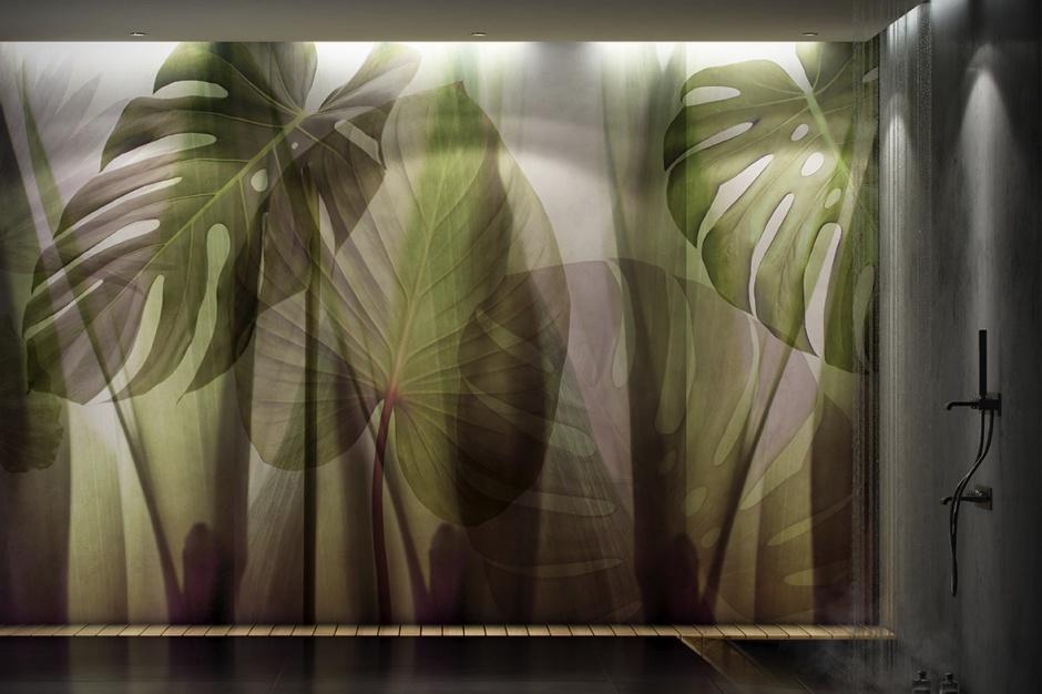 Ściana w łazience - nowa kolekcja ekologicznych grafik