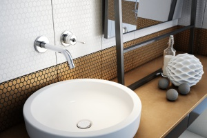 Baterie umywalkowe: 5 ściennych modeli