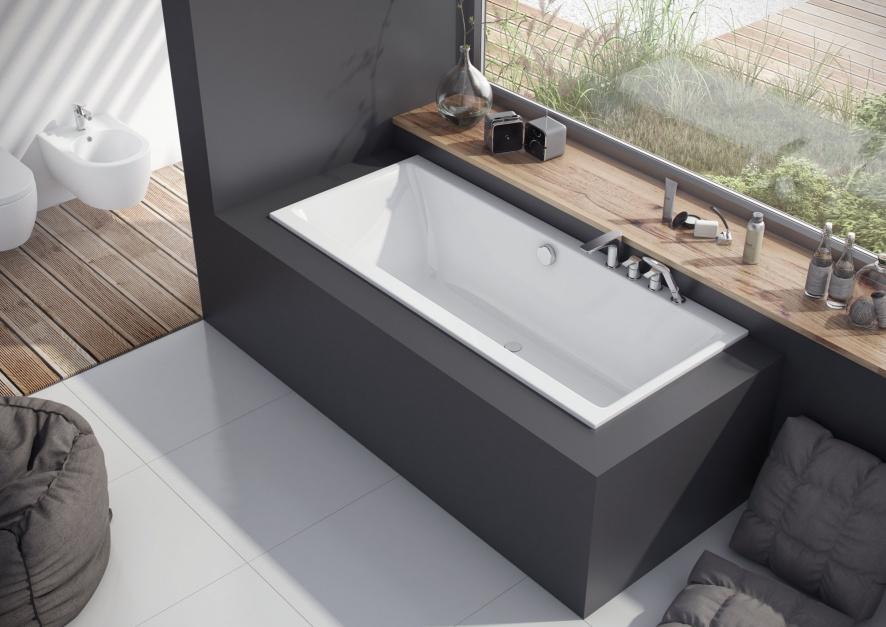 Wanna Pryzmat Slim - komfort kąpieli dla każdego