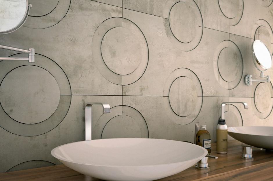 Ściana nad umywalką: 5 zachwycających pomysłów