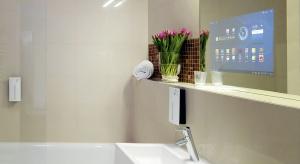Nowe technologie do łazienki: Inteligentne lustra zintegrowane