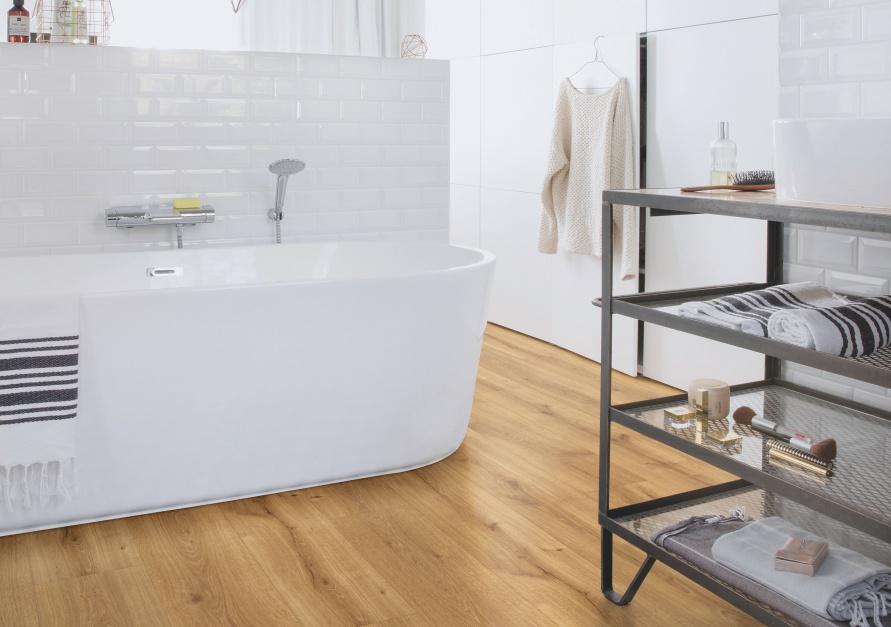 Aranżujemy Podłoga W łazience Wybierz Wodoodporne Panele