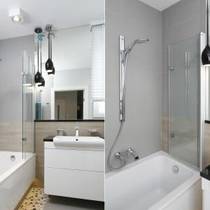 Szara łazienka: tak urządzisz ją z projektantem