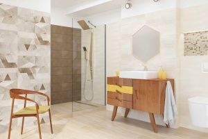 Trendy łazienkowe: kolekcja płytek z najmodniejszymi motywami