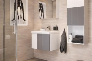 Kolor w łazience: kolekcja mebli i ceramiki