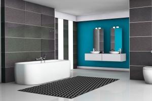 Modna strefa kąpieli: nowy model baterii wannowej