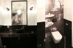Ciemna łazienka - tak urządzisz ją z projektantem