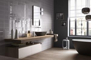 Modna łazienka: kolekcja płytek jak kafle
