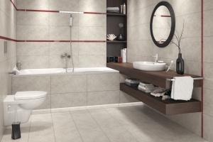 Płytki jak beton: kolekcje na podłogi i ściany