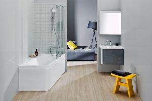 Mała łazienka: garść praktycznych rozwiązań na niewielki metraż