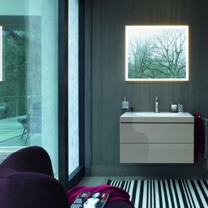 Nowoczesna łazienka: umywalka zlicowana z szafką